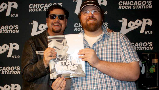 Mancow Muller and Adam Bray